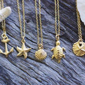 Ocean 14k Gold Filled Layering Necklace