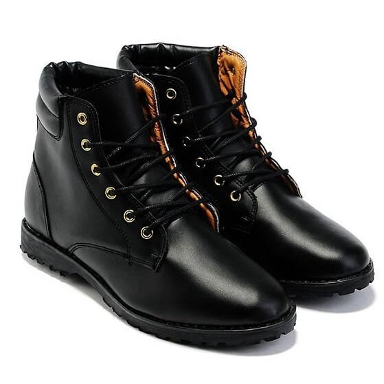Men's Dress Flat Dress Boots - TrendSettingFashions