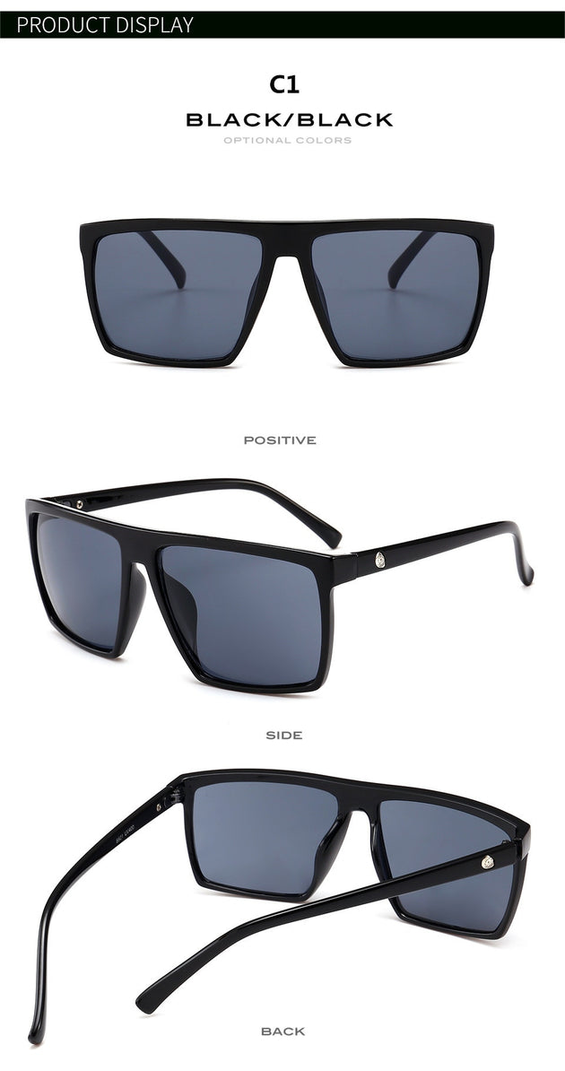 Men's Fashion Outdoor Aviator Sunglasses In 6 Color Options - TrendSettingFashions