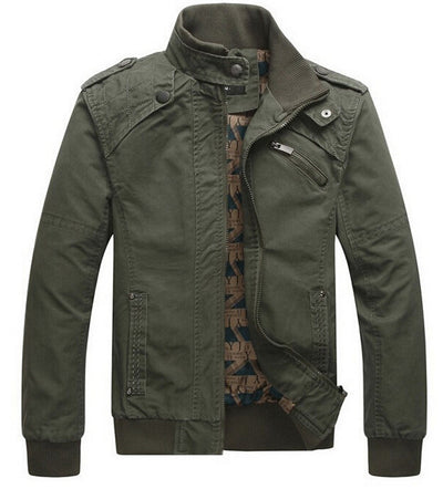 Men's Military Fashion Jacket Up To 4XL - TrendSettingFashions