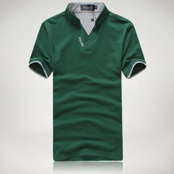 Men's Short Sleeve Solid Polo Shirt - TrendSettingFashions   - 3