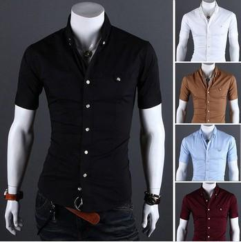Men's Short Sleeve Designer Shirt