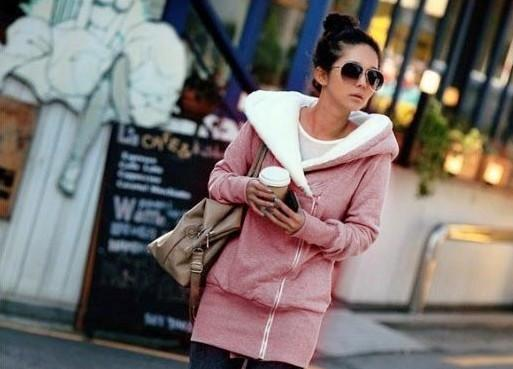 Soft Zip up Hoodie with STYLE - TrendSettingFashions   - 2