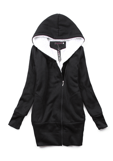 Women's Soft Zip up Hoodie with STYLE - TrendSettingFashions
