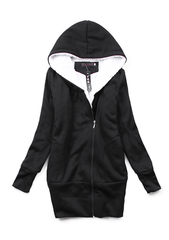 Soft Zip up Hoodie with STYLE - TrendSettingFashions   - 4