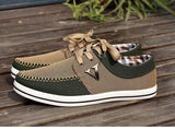 Men's Lace up All Match Canvas Shoe - TrendSettingFashions   - 2