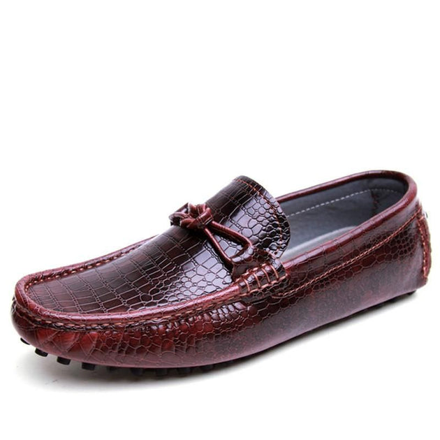 Classic Look Alligator Pattern Dress Shoe - TrendSettingFashions
