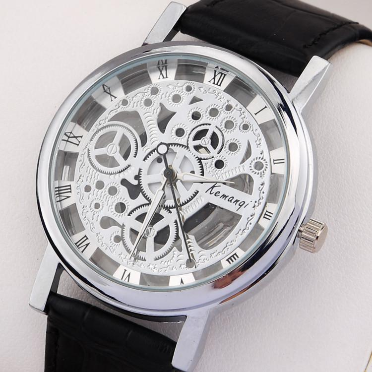 Men's Stainless Steel Fashion Skeleton Watch - TrendSettingFashions   - 2