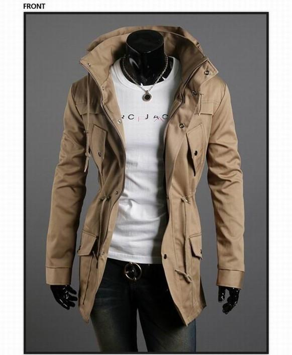 Men's Fashion Overcoat - TrendSettingFashions