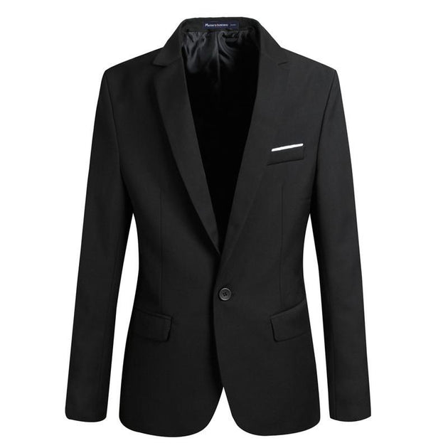 Men's Fashion Pocket Design Blazer - TrendSettingFashions