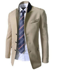Men's Single Breasted Dress Jacket - TrendSettingFashions   - 2
