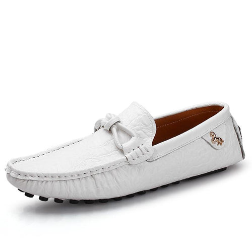 Men's Leather Moccasin Gommino Shoes