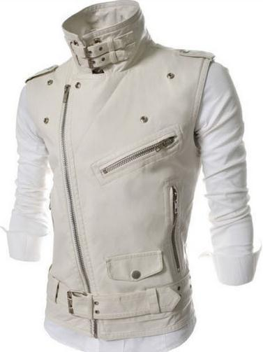 Men's Zipper Vest - TrendSettingFashions   - 2