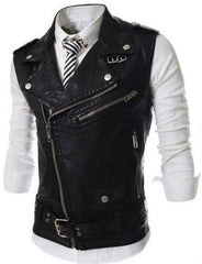 Men's Zipper Vest - TrendSettingFashions   - 1