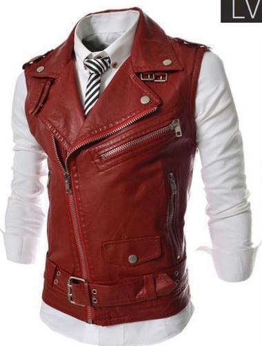 Men's Zipper Vest - TrendSettingFashions   - 3