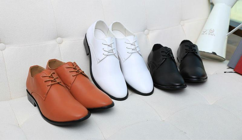 Men's Pointed Flats - TrendSettingFashions   - 1