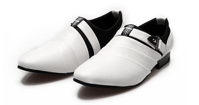 Leather Oxfords Fashion Pointed Dress Shoes - TrendSettingFashions