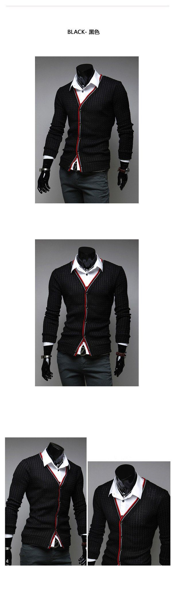 Men's Fashion Cardigan - TrendSettingFashions   - 2