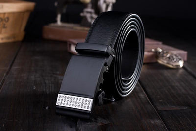 Genuine Leather Dress Fashion Belt - TrendSettingFashions