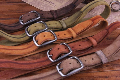 Genuine Leather Fashion Belt OS Style - TrendSettingFashions