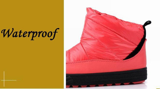 Women's Warm Waterproof Snowboots - TrendSettingFashions