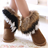 Women's Boots with the FUR - TrendSettingFashions