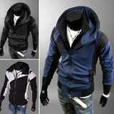 Men's Fleece Zip with High Collar Zip - TrendSettingFashions   - 1