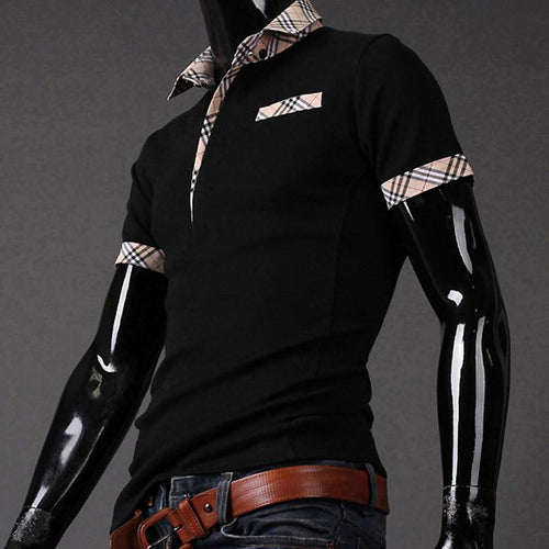 Men's Fashion Design Collar - TrendSettingFashions   - 1