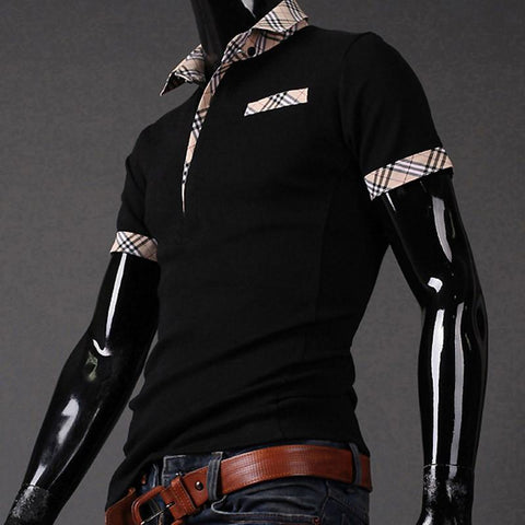 Men's Fashion Design Collar