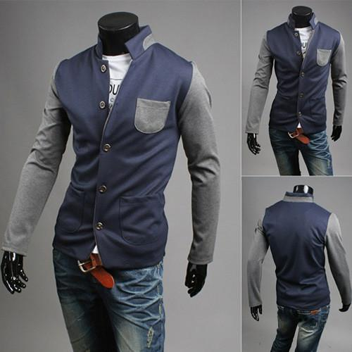 Men's Fashion Cardigan Coat - TrendSettingFashions