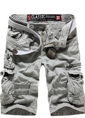 Men's Cargo Shorts with Side Zippers - TrendSettingFashions   - 3