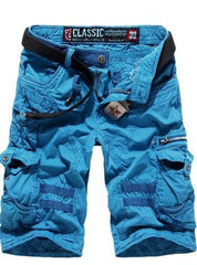Men's Cargo Shorts with Side Zippers - TrendSettingFashions   - 5