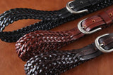 Genuine Leather Belt Classic Pattern 2 - TrendSettingFashions