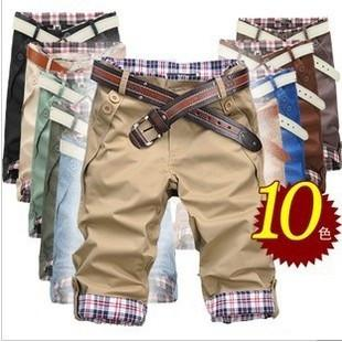 Men's Pleated Fashion Shorts