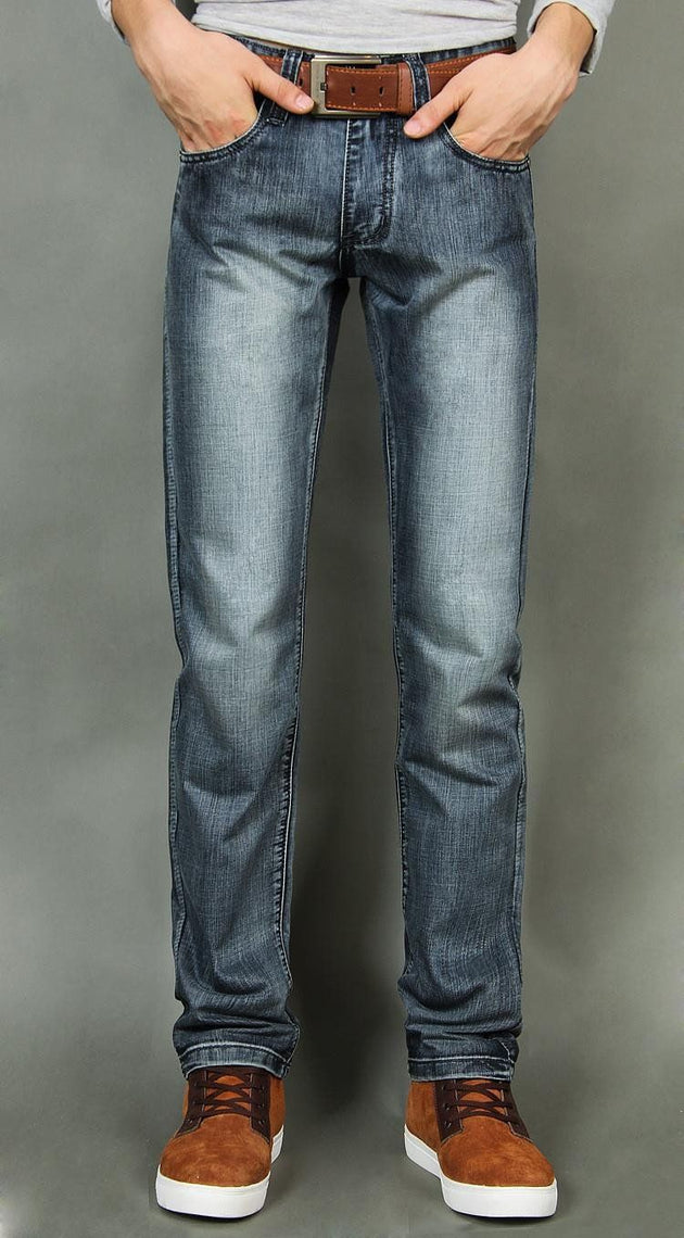Men's Classic Fade Jeans - TrendSettingFashions