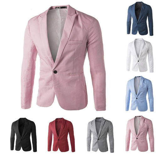 Men's Casual Suit Jacket/Many Color Options - TrendSettingFashions