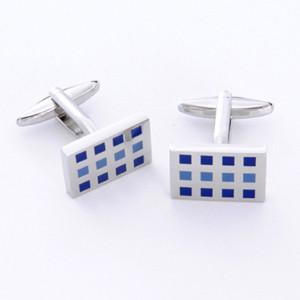 Dashing Cuff Links with Personalized Case - 12 Squares - TrendSettingFashions