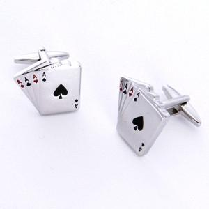 Dashing Cuff Links with Personalized Case - Aces - TrendSettingFashions