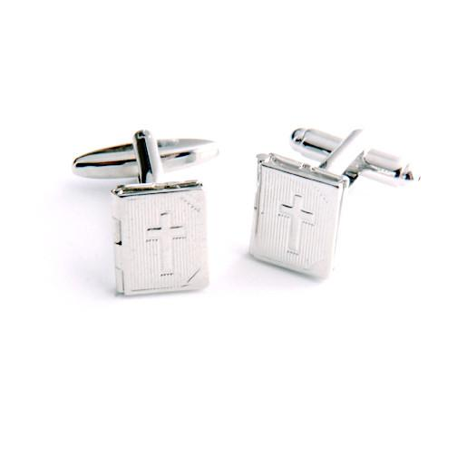 Dashing Cuff Links with Personalized Case - Bible - TrendSettingFashions