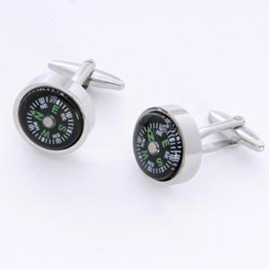 Dashing Cuff Links with Personalized Case - Compass - TrendSettingFashions
