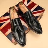 Retro Tassel Dress Shoes In 3 Colors