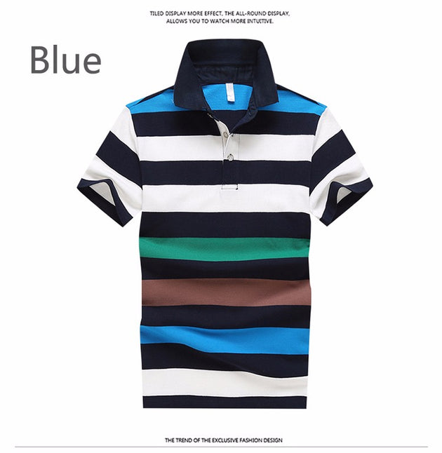 Men Colorful Polo - TrendSettingFashions