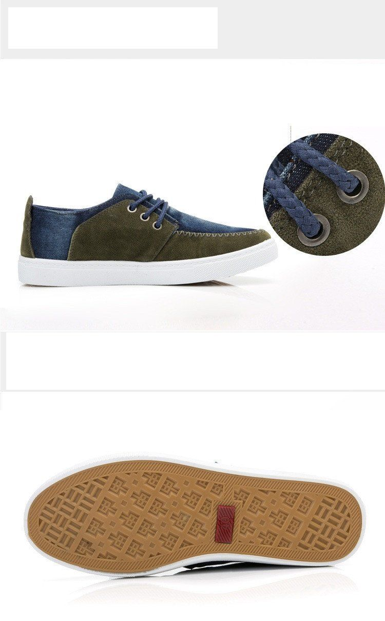 Men's Canvas Lace Up's - TrendSettingFashions   - 3