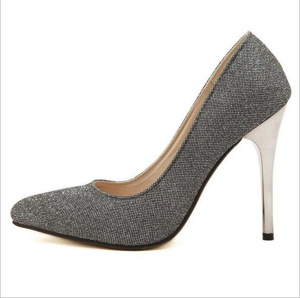 Women's Blingin' in Style Heels - TrendSettingFashions