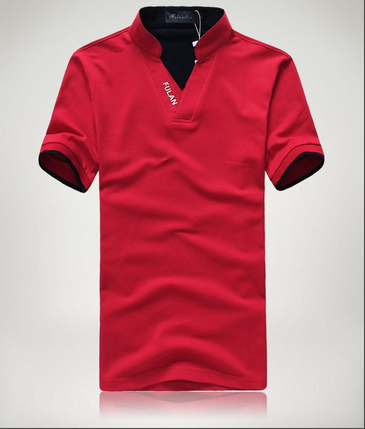 Men's Short Sleeve Solid Polo Shirt - TrendSettingFashions   - 1