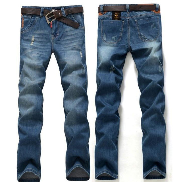 Men's Small Rips Jeans - TrendSettingFashions