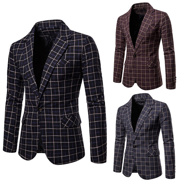 Men's Party Blazer In 2 Color Options - TrendSettingFashions