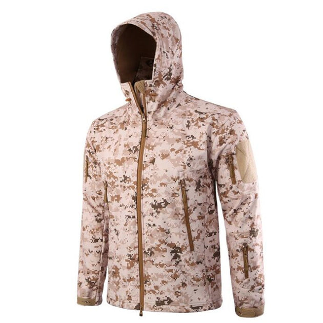 Men's Camo Stealth Jacket - TrendSettingFashions