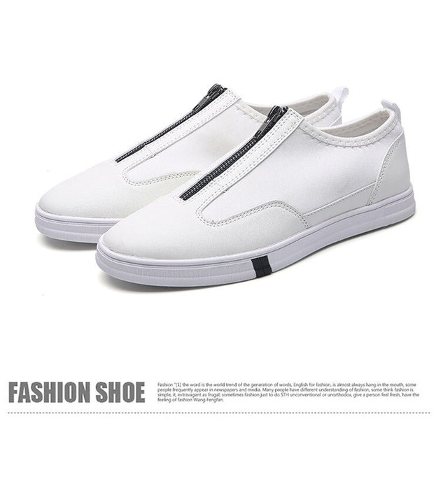 Men's British Side Zip Slip Ons In 2 Colors - TrendSettingFashions