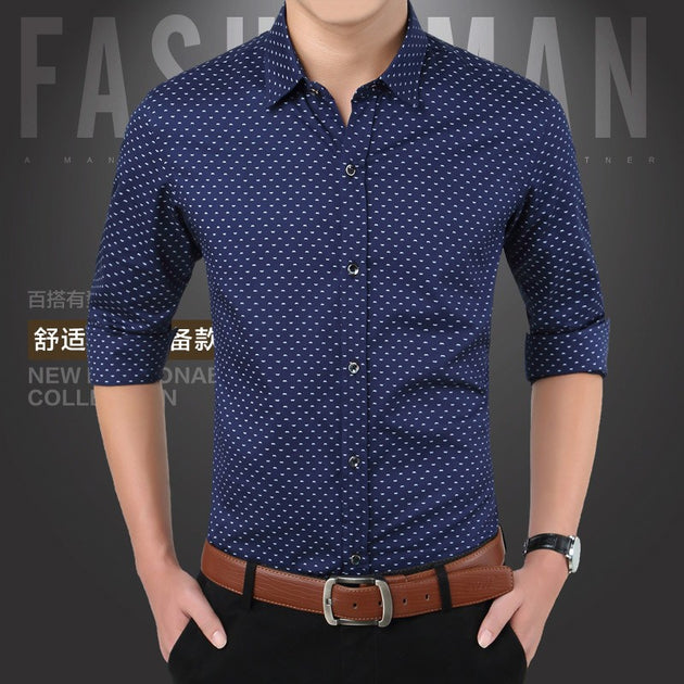 Men's Fashion Design Button Up - TrendSettingFashions